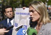 La candidata del PP a la alcaldía de Bilbao en un acto electoral.