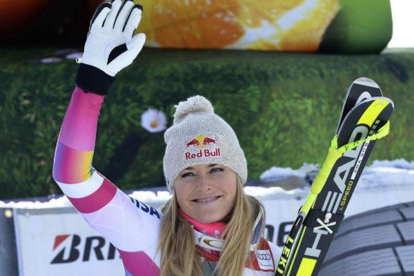 La esquiadora estadounidense Lindsay Vonn