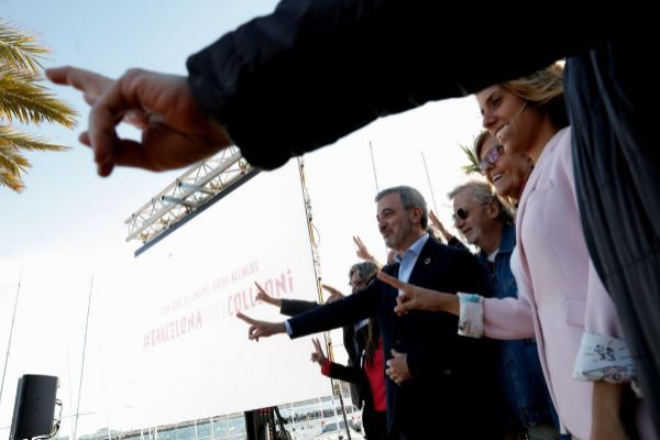Barcelona, 14 de Mayo de 2019 Acto de la plataforma Compromis per Barcelona de apoyo a Jaume <HIT>Collboni</HIT>.