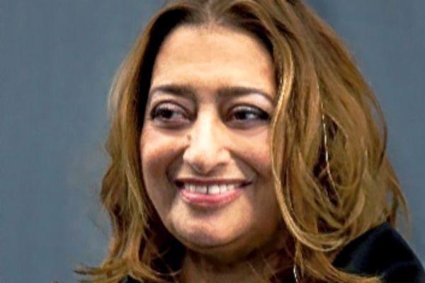 La fallecida angloiraquí Zaha Hadid, en una imagen de archivo