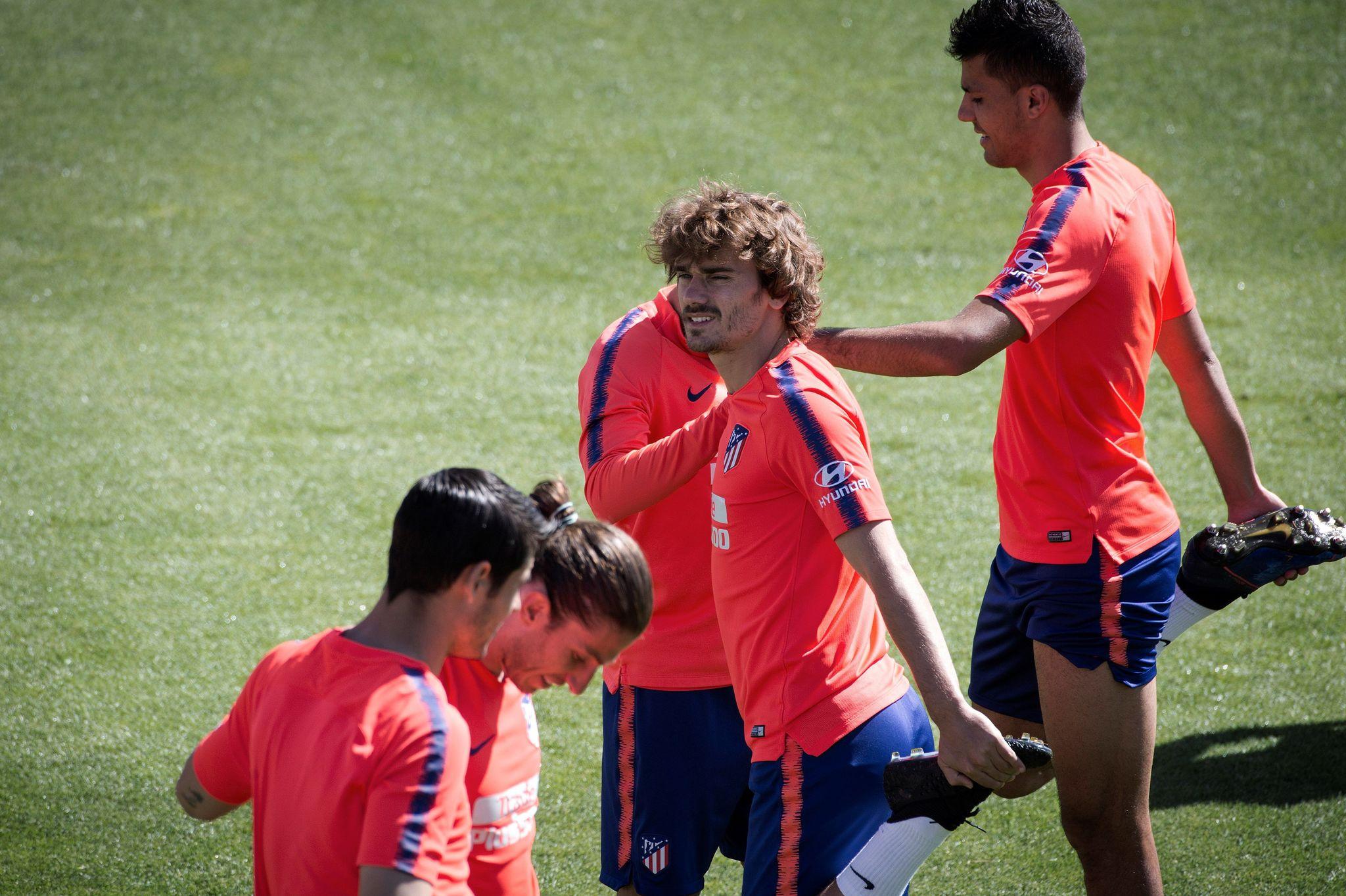 GRAF8489. MAJADAHONDA (MADRID).- El delantero francés del Atlético...