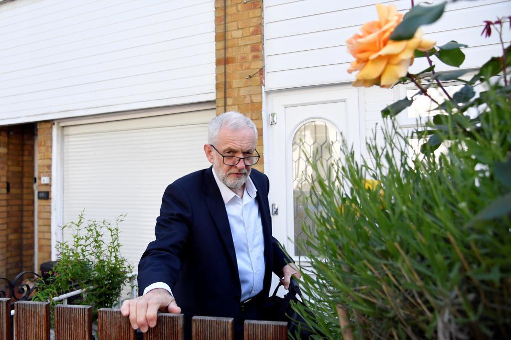 El líder la oposición laborista, Jeremy Corbyn