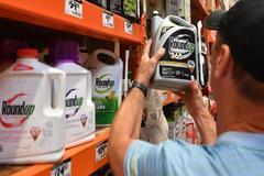 Herbicidas 'Roundup' de Monsanto en San Rafael (California).
