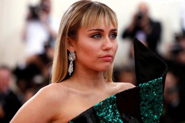 La actriz y cantante Miley Cyrus, en la pasad Gala del MET.