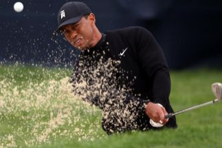 Tiger Woods, contra los peligros de Bethpage Black