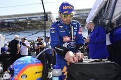 """Fuerte accidente de Alonso en Indy: """"Fue error mío"""""""