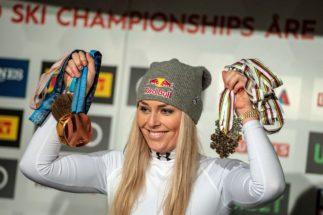"""GRAF1240 MADRID, 15/5/2019.-Fotografía de archivo, tomada 10/2/2019, de la esquaidora estadounidense Lindsey Voon. El jurado del Premio Princesa de Asturias de los Deportes 2019 ha decidido conceder el galardón a la Lindsey <HIT>Vonn</HIT> por su """"excelente trayectoria"""" en los mundiales y en los Juegos Olímpicos, por su """"capacidad de superación"""" y por ser """"ejemplo de deportividad""""."""
