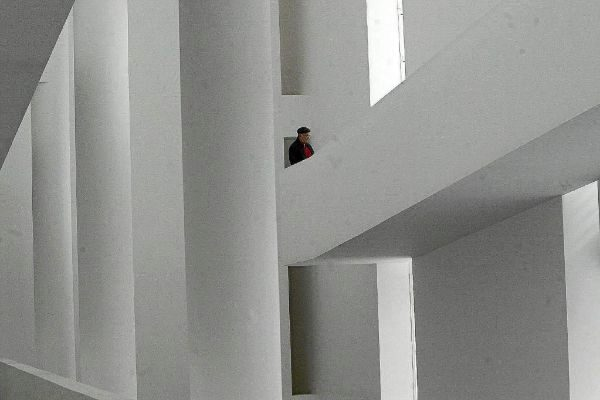 La arquitectura de Richard Meier es uno de los grandes reclamos del Macba.