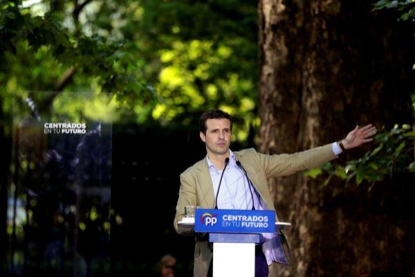 Pablo Casado, en un acto celebrado el pasado martes en Aranjuez.