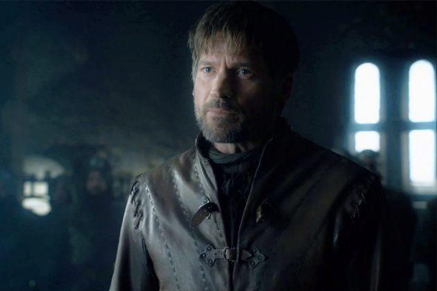 Jaime Lannister (Nikolaj Coster-Waldau) en la temporada final de Juego...