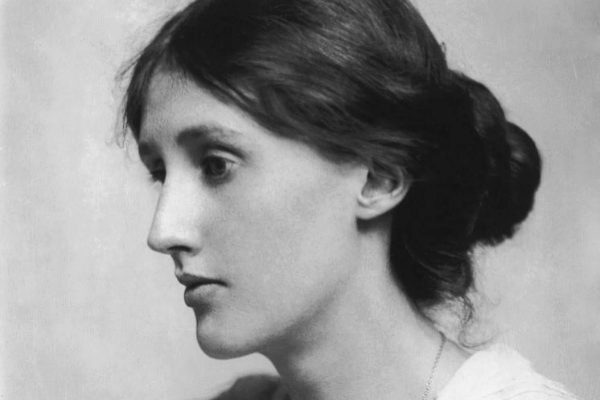La joven Virginia Woolf retratada  por su tía abuela Julia Margaret Cameron.