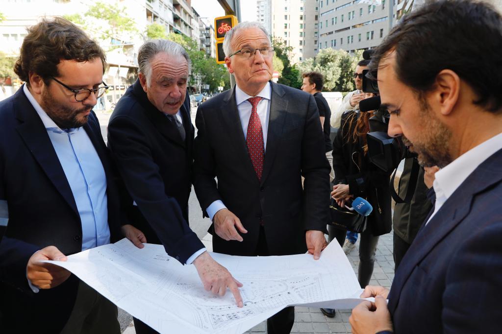 Barcelona, 15 de Mayo de 2019 El candidato del PP a la alcaldía de...