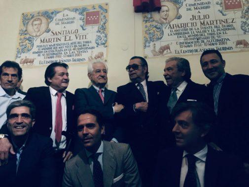 Ángel Teruel ya tiene su azulejo en Madrid: la historia viva del toreo se vuelca en su homenaje