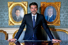 Luis Barcala, alcalde de Alicante desde abril del año pasado.