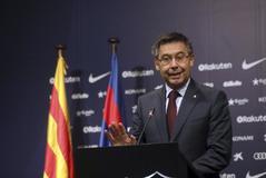 El presidente del Barcelona Josep Maria Bartomeu