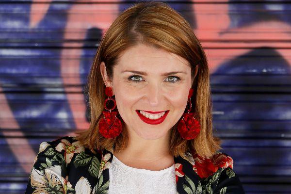 La candidata Maricarmen Sánchez (CS)