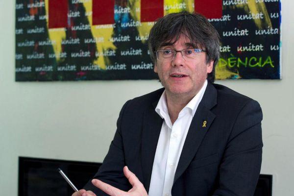 El ex president, Carles Puigdemont.