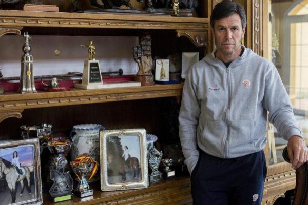 Jose Miguel Arroyo 'Joselito' en su finca Prado del Arca en Talavera de la Reina