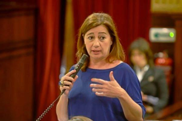 La caída del PP permitiría a Armengol revalidar el pacto con Podemos y los soberanistas de Més
