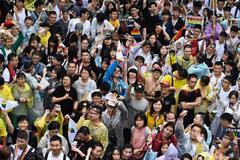 Taiwán hace historia en Asia y aprueba el matrimonio entre personas del mismo sexo