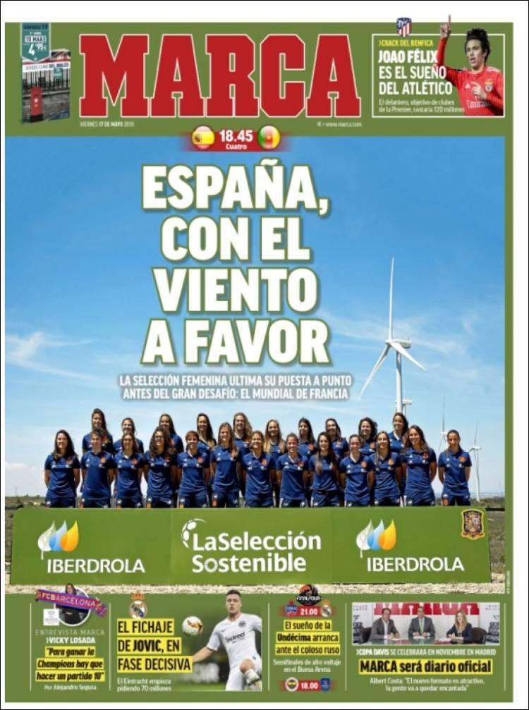 Las portadas de los diarios deportivos del 17 de mayo