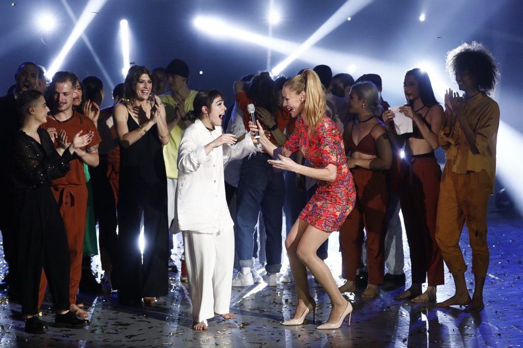 Esther Moreno, ganadora de la segunda edición de Fama a bailar en #0,...