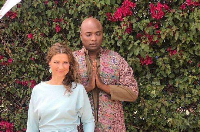 Marta Luisa de Noruega y su novio, Shaman Durek, en una de las muchas imágenes que la pareja ha compartido en su Instagram