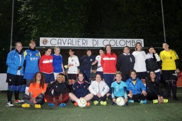 El primer equipo femenino de fútbol de la Santa Sede.