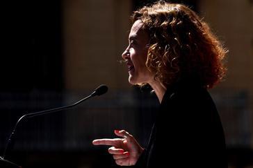Meritxell Batet, en un acto celebrado recientemente en Barcelona.