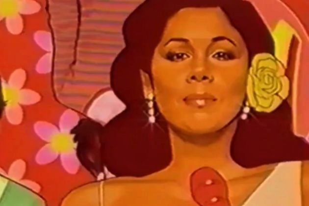 Isabel Pantoja en la cabecera de la tercera temporada de Paquita...