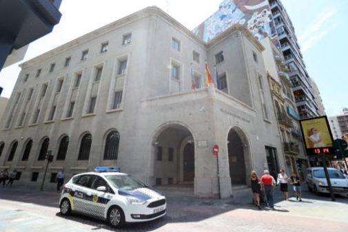 La fachada de la Subdelegación del Gobierno de Castellón.