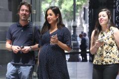 La política Begoña Villacís el pasado 13 de mayo por Madrid