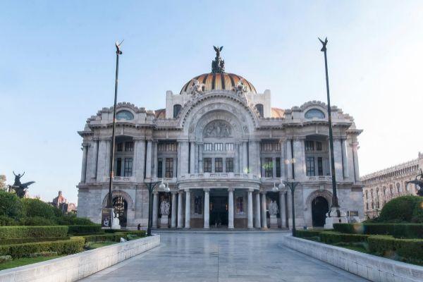 El Palacio de Bellas Artes donde tuvo lugar el evento este miércoles.