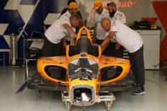 Alerta roja para  Alonso en Indianápolis