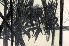 Una d las obras de Nicolás Ortigosa que pueden verse en Bombas Gens.