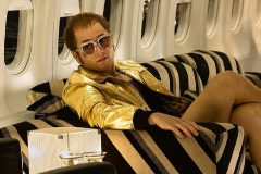Taron Egerton como Elton John en 'Rocketman'.