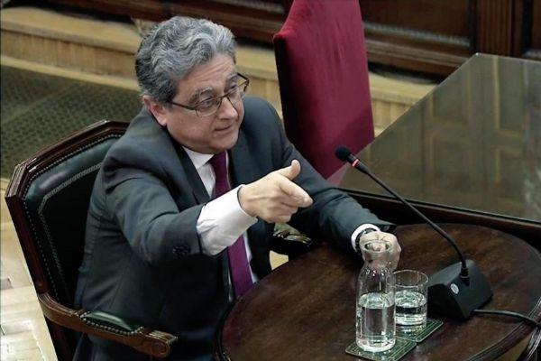 Enric Millo durante su declaración en el Supremo