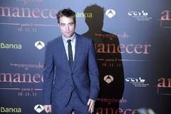 Robert Pattinson, en la presentación de Crepúsculo.
