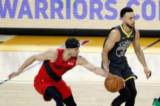 La gran noche de los Curry: robos, triples en la cara y un ganador