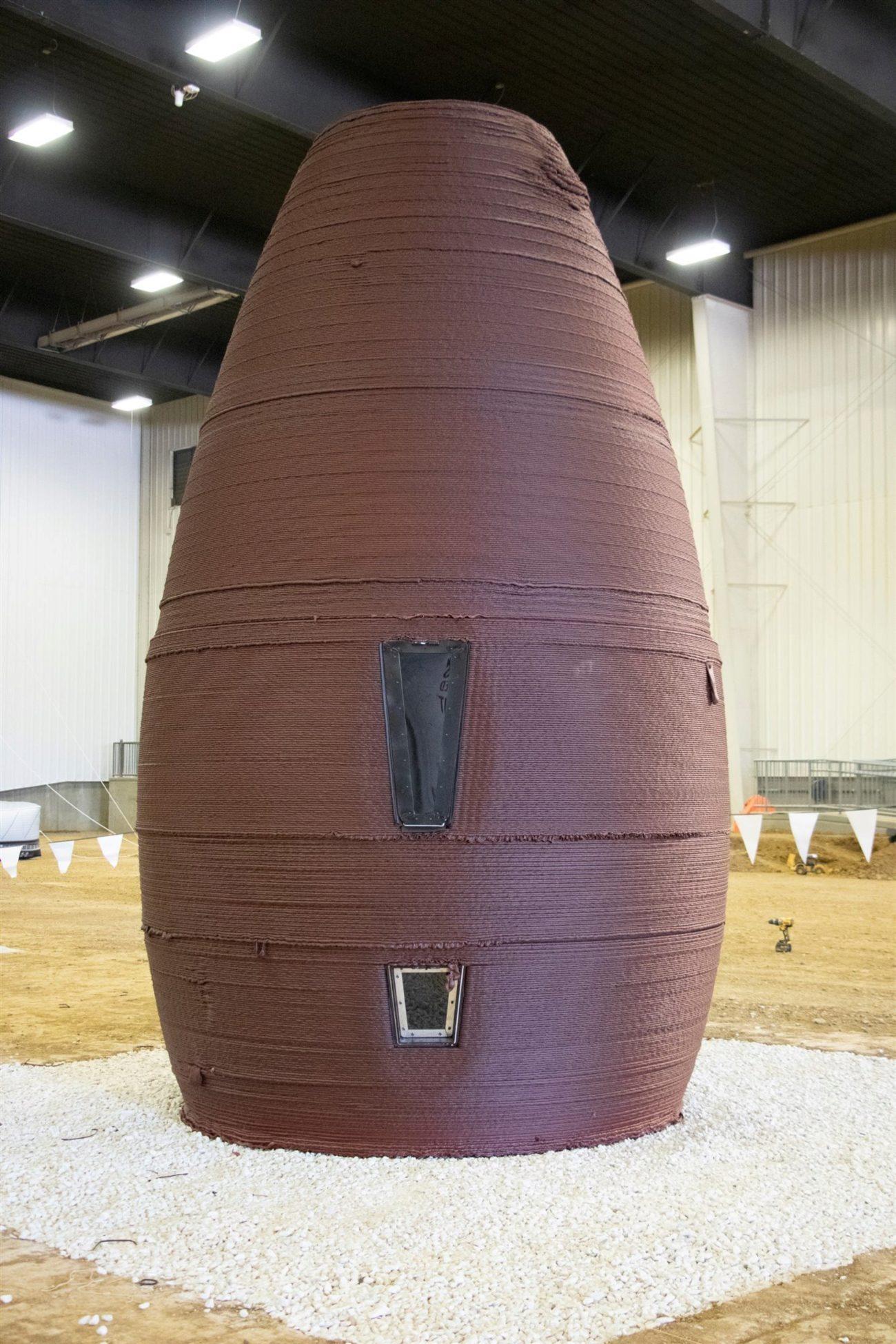 Se trata de estructuras con un diseño que recuerda al de un avispero...