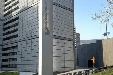 Sede central de Infraestructures.cat en una imagen de archivo.
