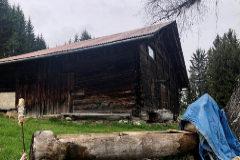 Refugio de montaña en el que vivía Josu Ternera