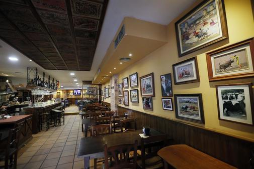 Restaurante Los Ibéricos de Luceros.