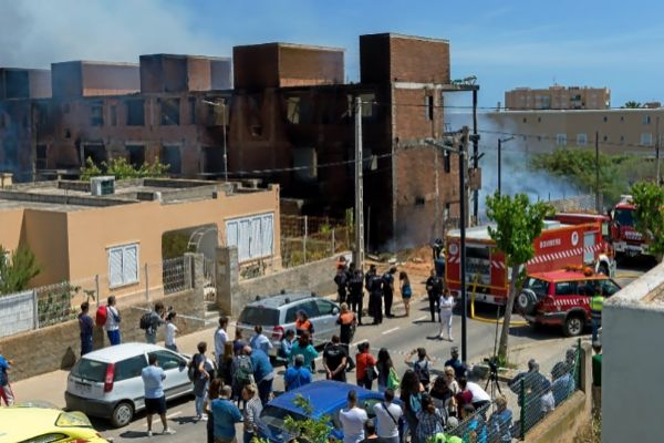 Los afectados por el incendio tenían trabajo en su mayoría, pero no...