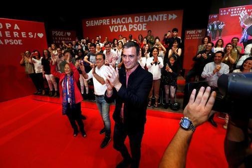 Pedro Sánchez, en un acto del PSOE en Alicante