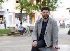Carlos Sánchez Mato, en la entrevista con EL MUNDO