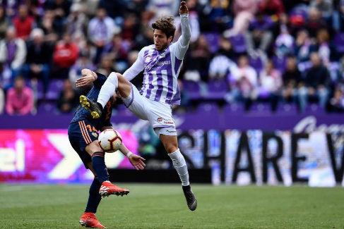 Real Valladolid-Valencia. La lucha por la Champions, en directo