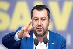 """Salvini reúne a la ultraderecha europea:  """"Los extremistas son los que han gobernado"""""""