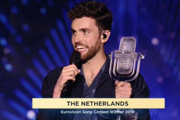 Duncan Laurence, ganador de Eurovisión 2019 representando a Holanda.
