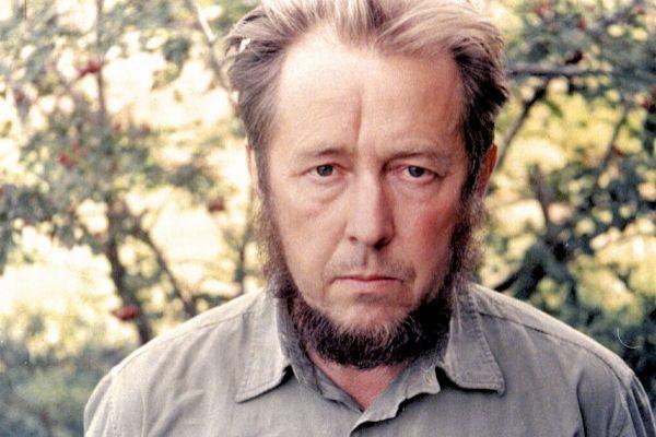 Imagen del escritor y poeta ruso Alexander Solzhenitsyn.
